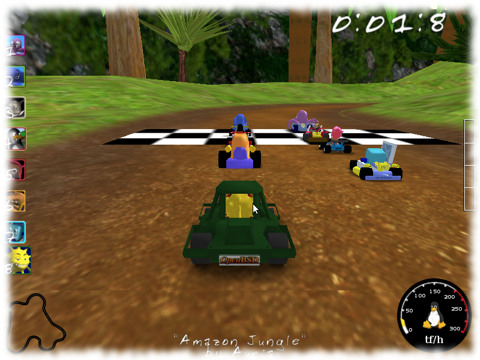 screenshot-SuperTuxKart-1